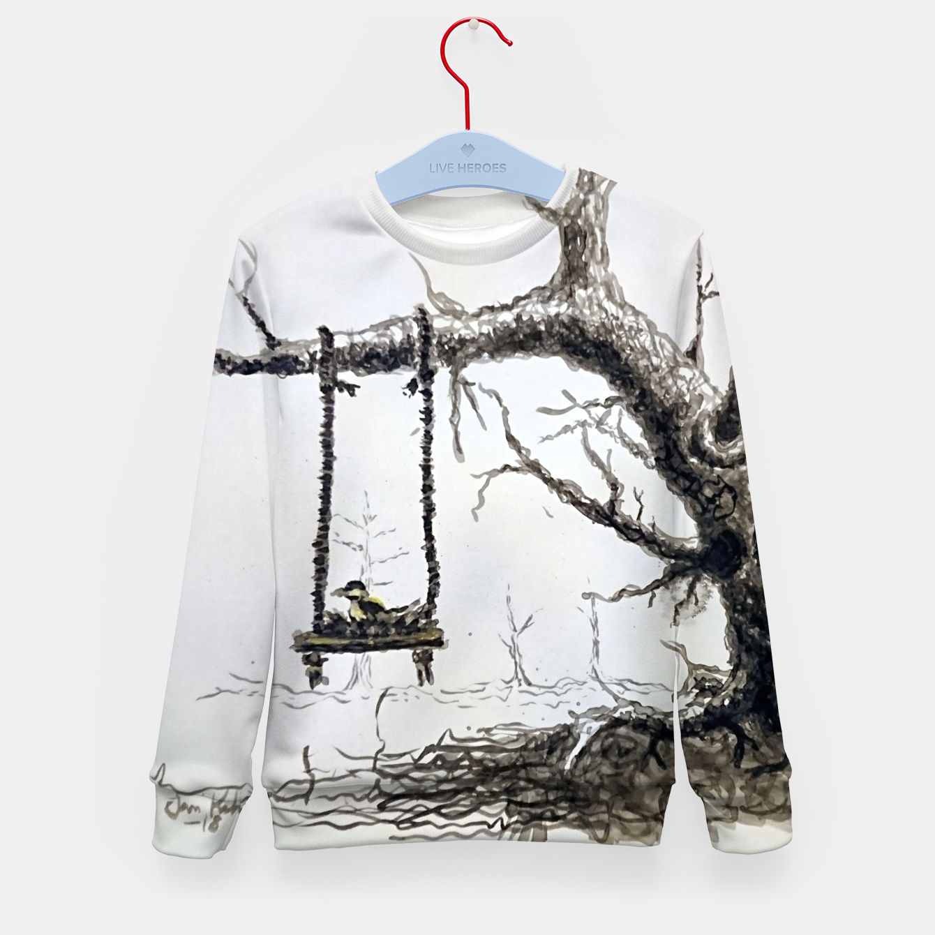Image of Solitude Kid's sweater - Live Heroes