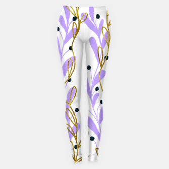 Thumbnail image of lilac and gold leaves, Live Heroes