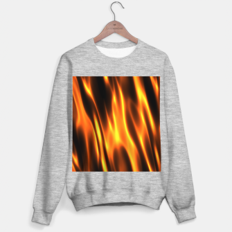 Thumbnail image of Hot Fire Flames Sweater regular, Live Heroes