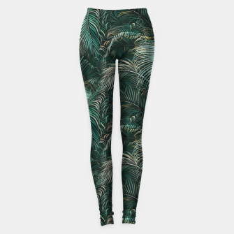 Thumbnail image of Amid the tropical jungle at daytime Leggings, Live Heroes