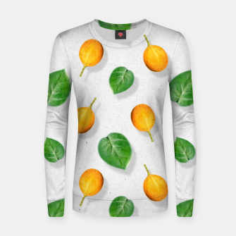 Thumbnail image of Passion fruit and leaf by #Bizzartino Women sweater, Live Heroes