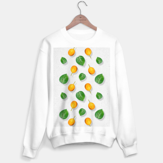 Thumbnail image of Passion fruit and leaf by #Bizzartino Sweater regular, Live Heroes
