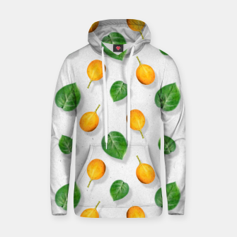 Thumbnail image of Passion fruit and leaf by #Bizzartino Hoodie, Live Heroes