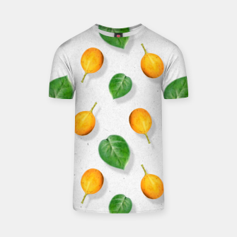 Thumbnail image of Passion fruit and leaf by #Bizzartino T-shirt, Live Heroes
