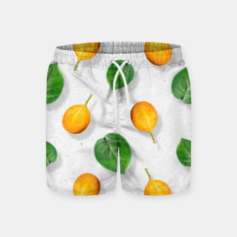 Thumbnail image of Passion fruit and leaf by #Bizzartino Swim Shorts, Live Heroes
