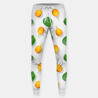 Thumbnail image of Passion fruit and leaf by #Bizzartino Sweatpants, Live Heroes