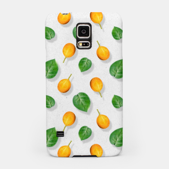 Thumbnail image of Passion fruit and leaf by #Bizzartino Samsung Case, Live Heroes