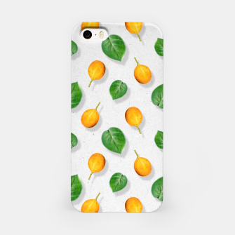 Thumbnail image of Passion fruit and leaf by #Bizzartino iPhone Case, Live Heroes