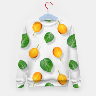 Thumbnail image of Passion fruit and leaf by #Bizzartino Kid's sweater, Live Heroes