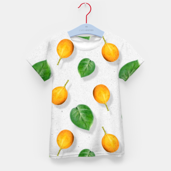 Thumbnail image of Passion fruit and leaf by #Bizzartino Kid's t-shirt, Live Heroes