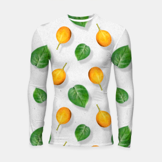 Thumbnail image of Passion fruit and leaf by #Bizzartino Longsleeve rashguard , Live Heroes