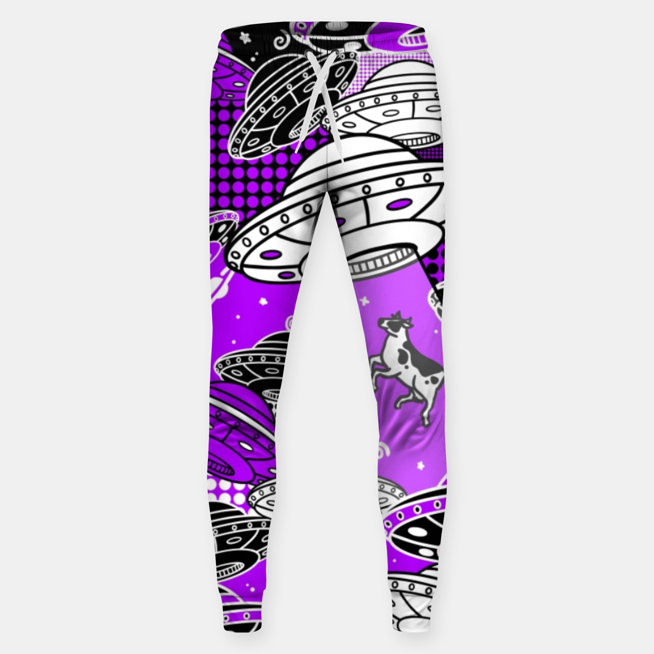 Image of Ufo cow abduction - Sweatpants - Live Heroes