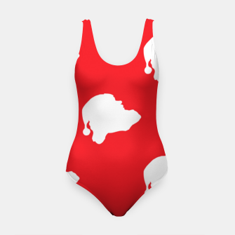 Thumbnail image of Santa Claus on red Swimsuit, Live Heroes