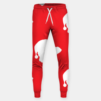 Thumbnail image of Santa Claus on red Sweatpants, Live Heroes