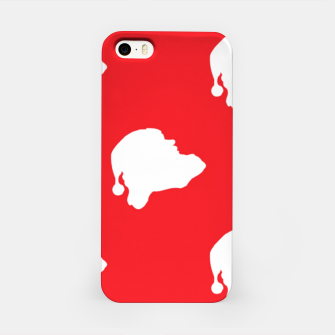 Thumbnail image of Santa Claus on red iPhone Case, Live Heroes