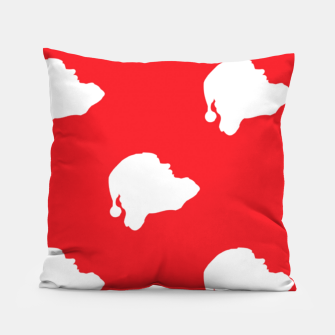 Thumbnail image of Santa Claus on red Pillow, Live Heroes