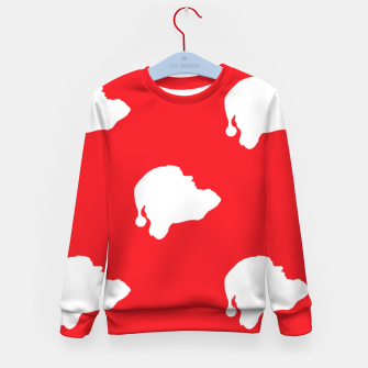 Thumbnail image of Santa Claus on red Kid's sweater, Live Heroes