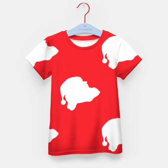 Thumbnail image of Santa Claus on red Kid's t-shirt, Live Heroes