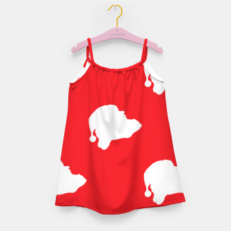 Thumbnail image of Santa Claus on red Girl's dress, Live Heroes