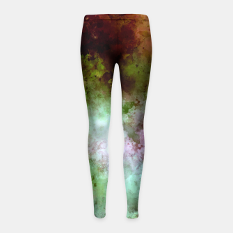 Thumbnail image of From the darkness Girl's leggings, Live Heroes