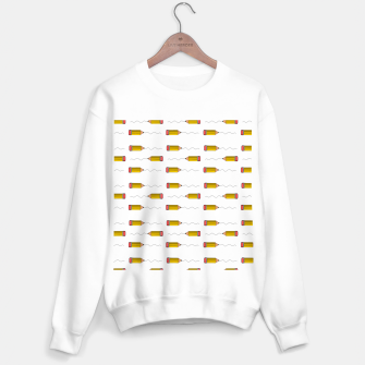 Thumbnail image of Pencil scrabble lines Sweater regular, Live Heroes
