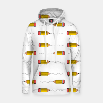 Thumbnail image of Pencil scrabble lines Hoodie, Live Heroes