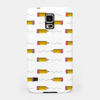 Thumbnail image of Pencil scrabble lines Samsung Case, Live Heroes