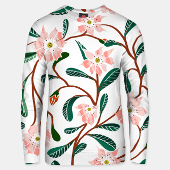 Thumbnail image of Floral Deco  Unisex sweater, Live Heroes