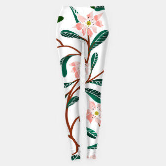 Thumbnail image of Floral Deco  Leggings, Live Heroes