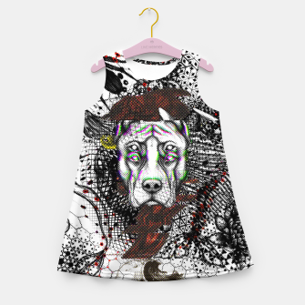 Thumbnail image of Bad Dog Glitch Girl's summer dress, Live Heroes