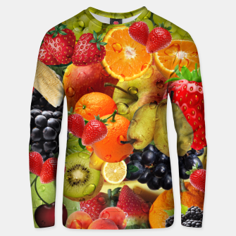 Thumbnail image of FRUIT IS LIFE Unisex sweater, Live Heroes