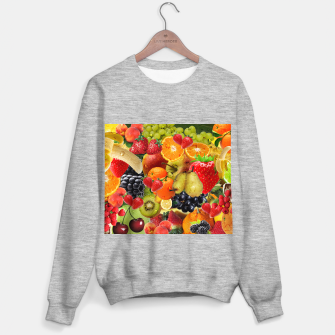Thumbnail image of FRUIT IS LIFE Sweater regular, Live Heroes