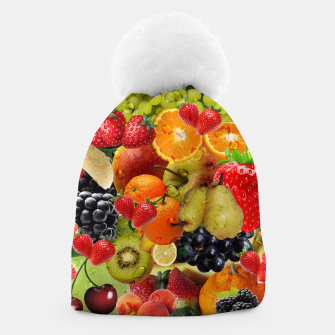 Thumbnail image of FRUIT IS LIFE Beanie, Live Heroes
