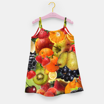 Thumbnail image of FRUIT IS LIFE Girl's dress, Live Heroes