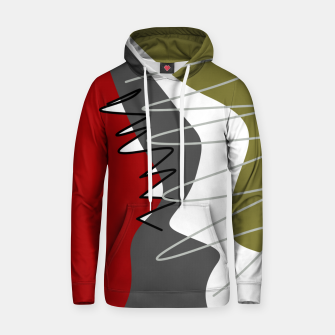 Thumbnail image of abstract trendy multicolored pattern Hoodie, Live Heroes