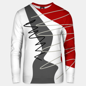 Thumbnail image of  trendy  multicolored pattern  Unisex sweater, Live Heroes