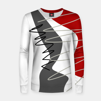 Thumbnail image of  trendy  multicolored pattern  Women sweater, Live Heroes
