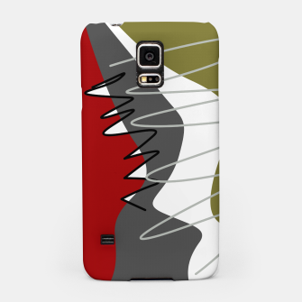 Thumbnail image of abstract trendy multicolored pattern Samsung Case, Live Heroes