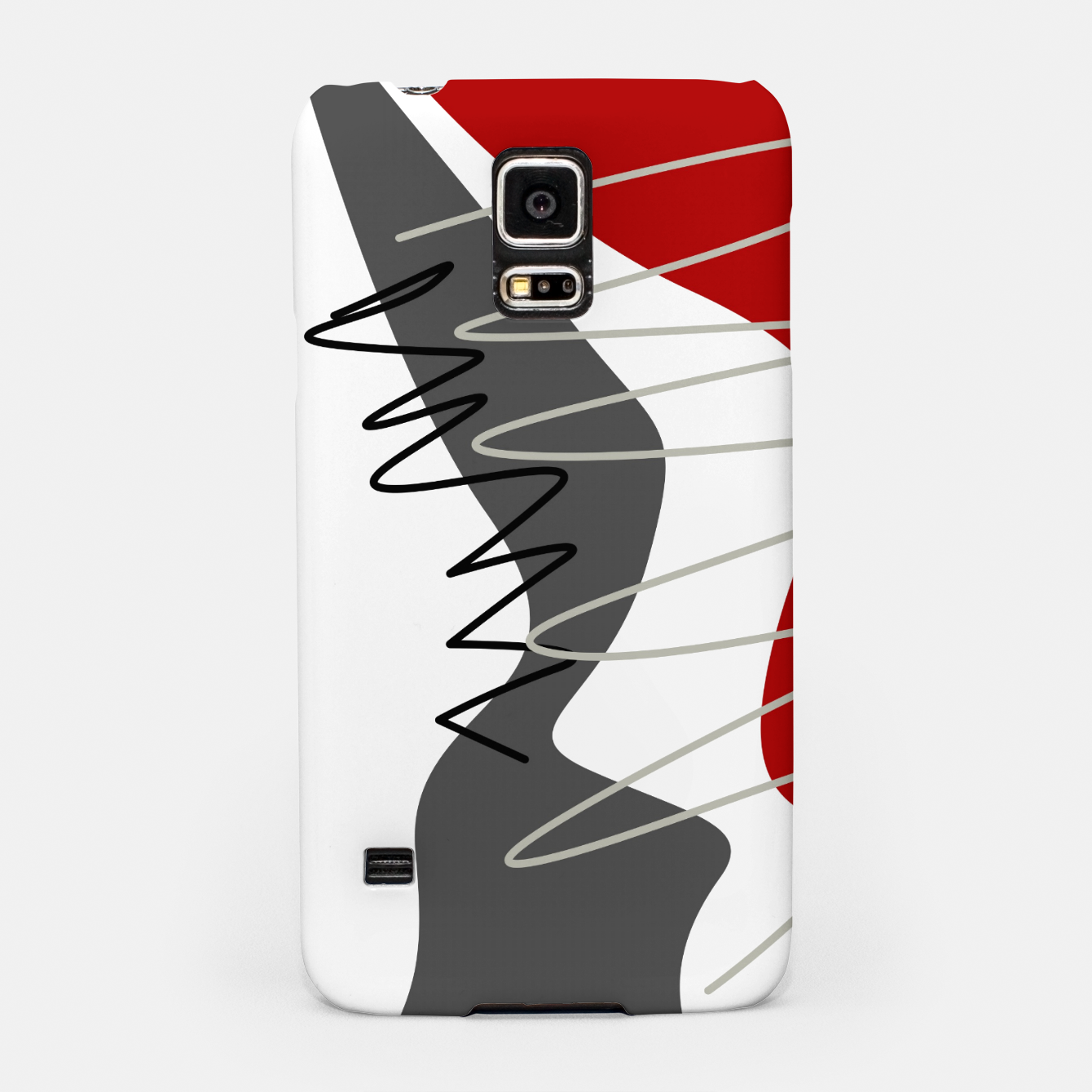 Image of  trendy  multicolored pattern  Samsung Case - Live Heroes