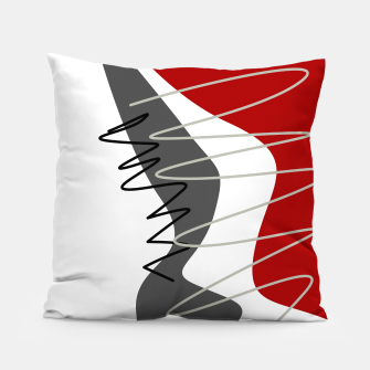Thumbnail image of  trendy  multicolored pattern  Pillow, Live Heroes