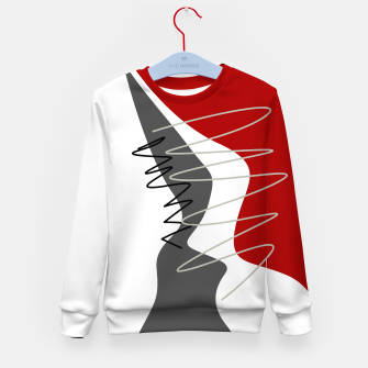 Thumbnail image of  trendy  multicolored pattern  Kid's sweater, Live Heroes