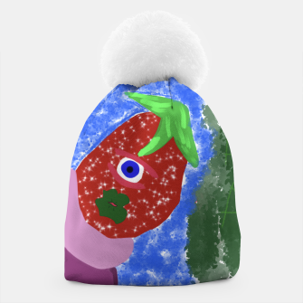 Thumbnail image of Strawberry Boi  Beanie, Live Heroes