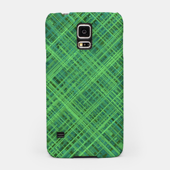 Thumbnail image of Diagonal Line Pattern (Green) Samsung Case, Live Heroes
