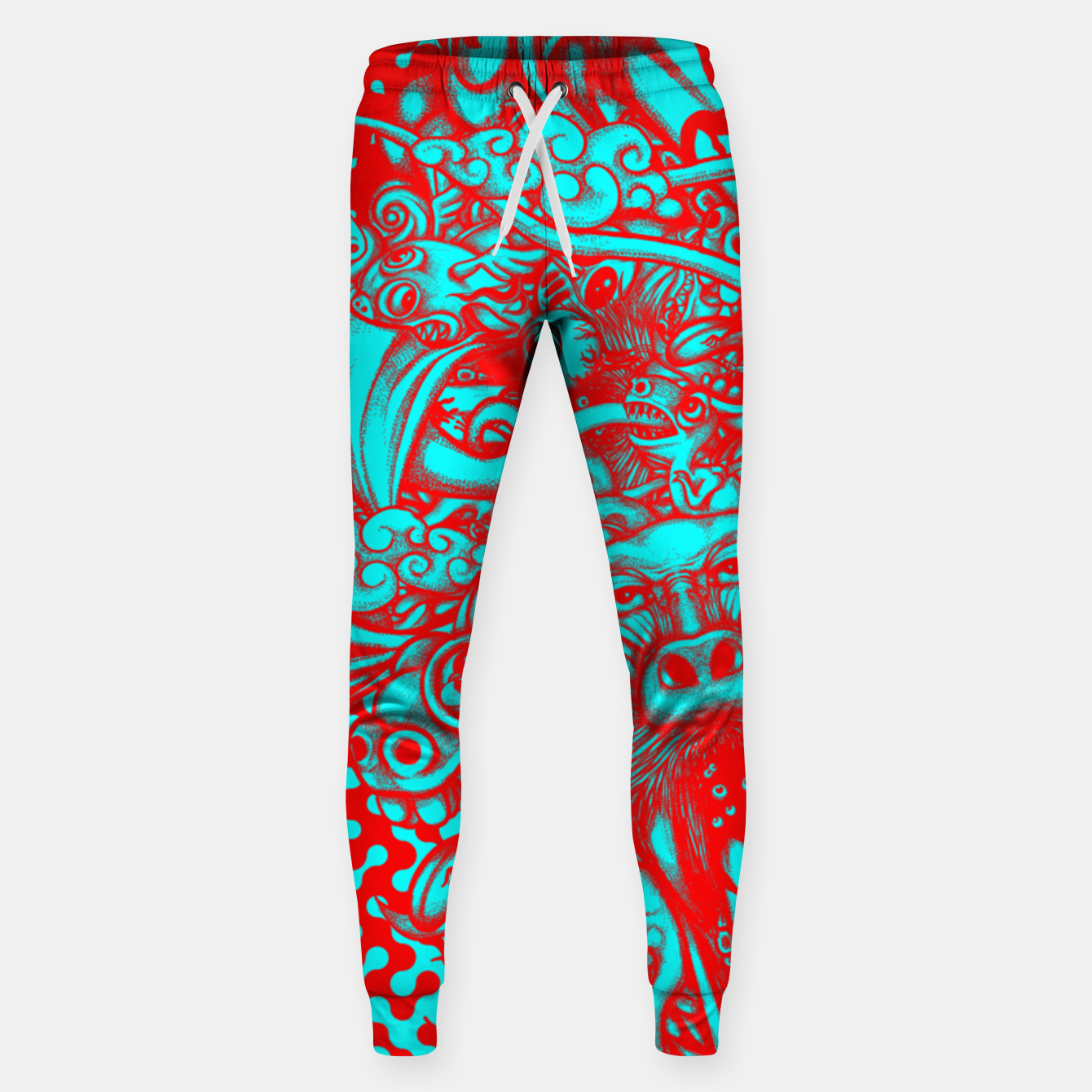 Image of Scream Doodle Color Sweatpants - Live Heroes