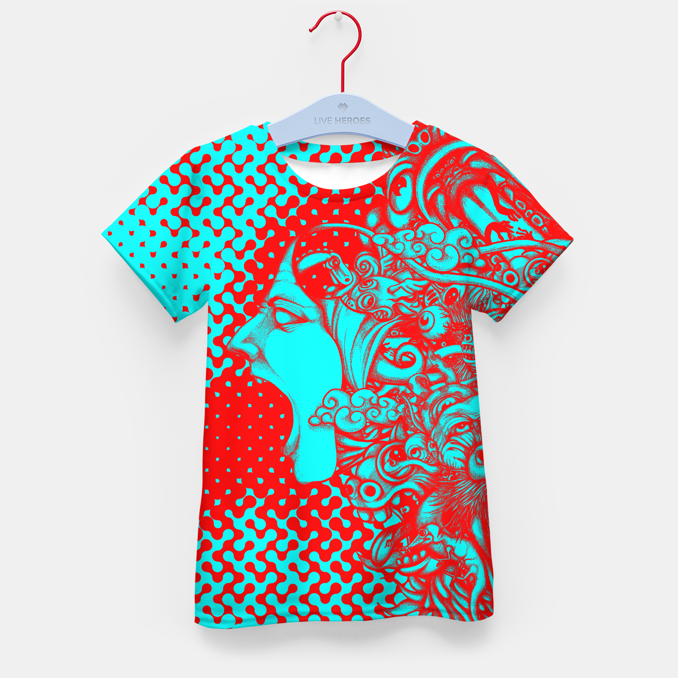 Image of Scream Doodle Color Kid's t-shirt - Live Heroes