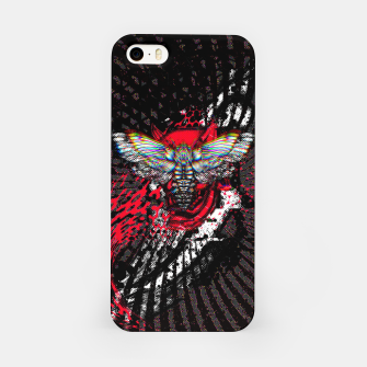 Thumbnail image of Moth Glitch iPhone Case, Live Heroes