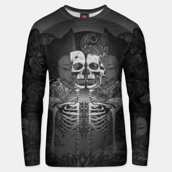 Thumbnail image of Memory Sliced Unisex sweater, Live Heroes