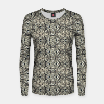 Thumbnail image of Steampunk Camouflage Print Pattern Women sweater, Live Heroes