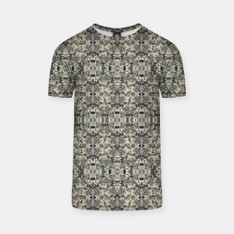 Thumbnail image of Steampunk Camouflage Print Pattern T-shirt, Live Heroes