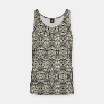 Thumbnail image of Steampunk Camouflage Print Pattern Tank Top, Live Heroes
